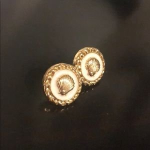Lilly Pulitzer seashell earrings